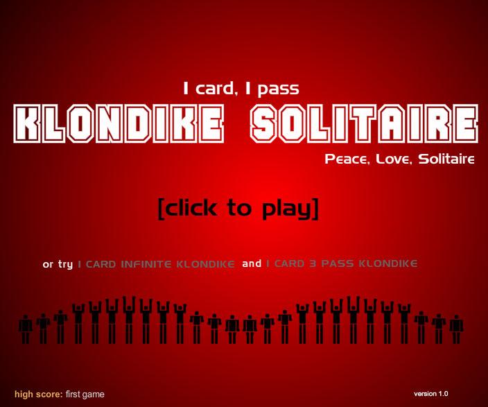 1 pass solitaire full screenshot