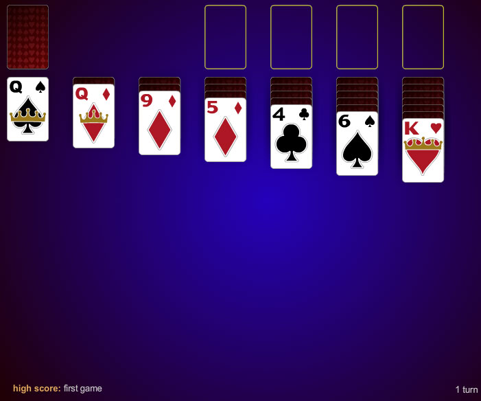 Infinite Pass Klondike Solitaire is not just regular solitaire